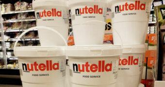 Nutella liefhebbers opgelet: in deze supermarkt verkopen ze potten van 3 kilo!