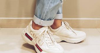 De trend van dit moment: chunky dad sneakers