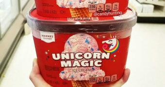 Er is nu Unicorn ijs mét glitters