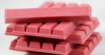 De roze KitKat komt naar Nederland