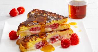 Recept: frambozen cheesecake wentelteefjes