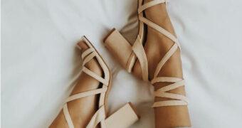 De trend aankomende zomer: strappy heeled sandals