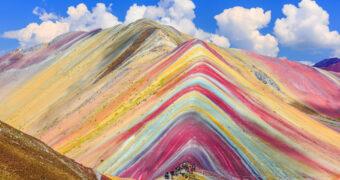 Wil je heen: de regenboogbergen in Peru