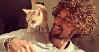 Het Nederlandse topmodel Wouter Peelen is weer vrijgezel