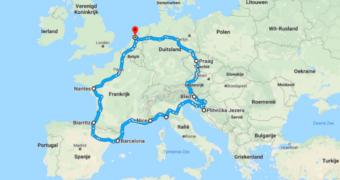 De ultieme roadtrip langs de mooiste spots van Europa