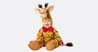 In de categorie 'we kunnen het amper aan':  babykostuums voor Halloween