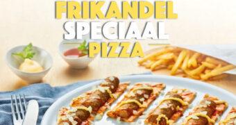 De ultieme pizza: Frikandel speciaal pizza