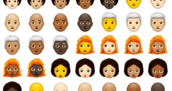 nieuwe emojis FEM FEM