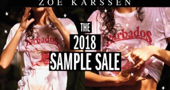 Deze aankomende sample sale van Zoe Karssen mag je absoluut niet missen