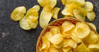 De hemel: knapperige chips met de smaak van echte truffel
