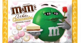 Heaven on earth: m&m's met cheesecake smaak
