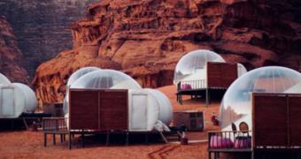 Voor op je bucketlist: Wadi Rum Bubble