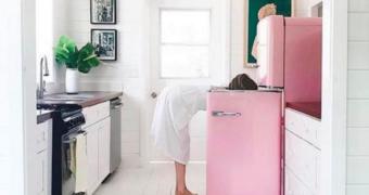 Voor de liefhebber: de roze koelkasten van de Lidl zijn weer terug!