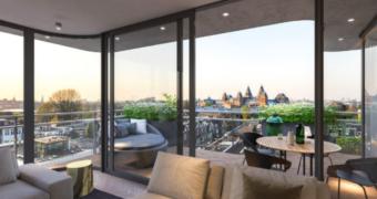 Te koop: een appartement met het mooiste uitzicht van Amsterdam