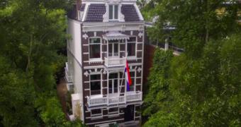 Als koningin in Amsterdam: wonen in een villa naast het Vondelpark