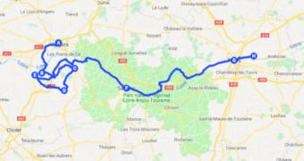 Roadtrippen door de wijngaarden van Loire in Frankrijk