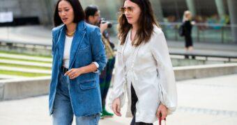 NYFW bewijst maar weer dat jeans voor altijd tijdloos zullen zijn