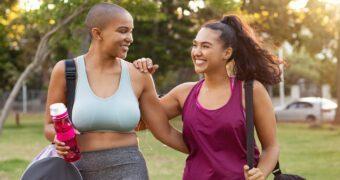 Science says: sporten doe je echt beter met een vriendin