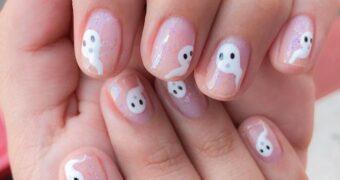 halloween nail art FEM FEM (1)