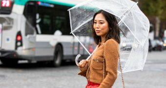 Zo bescherm jij je haren tegen de regen