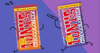 Tony's Chocolonely estafettereep