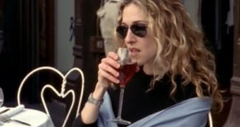 carrie bradshaw wijn