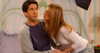 Ross en Rachel relatie