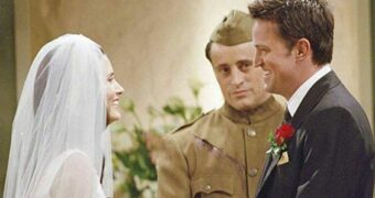 chandler monica wedding