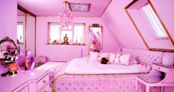 Deze roze woning is een pink paradise
